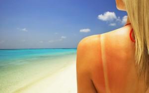 Влияние солнца на кожу лица